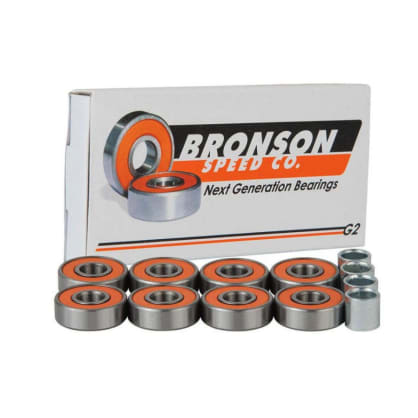 Bronson Speed Co - Bronson G2 Skateboard Bearings