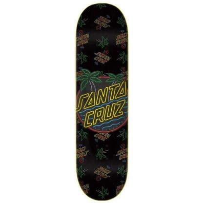 Santa Cruz Skateboards Glow Dot Skateboard Deck - 7.75