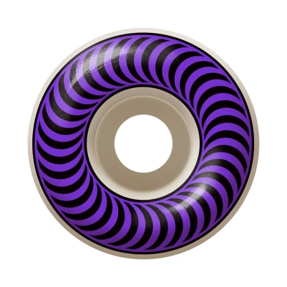 Spitfire - 58mm Classics White/Purple 99a