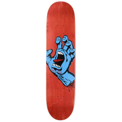 "Santa Cruz Skateboards - Screaming Hand Deck 8"" Wide"