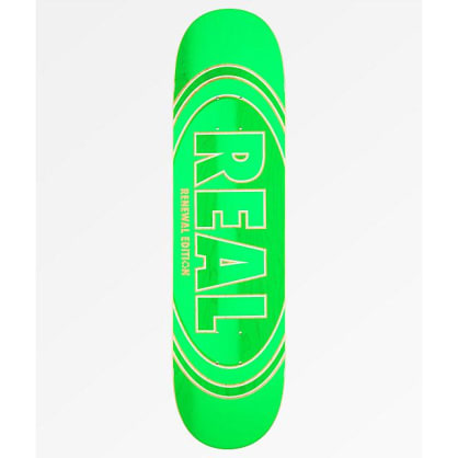 "Real Crossfade Renewal 8.06"" Skateboard Deck"