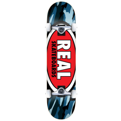 """Real Team Oval Camo Complete 7.3"""""""