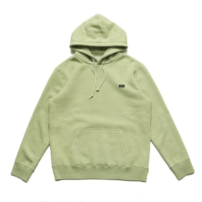 Chrystie NYC Small OG Patch Logo Hoodie - Weed Green