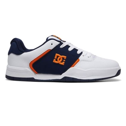 DC Central White/Navy Shoes