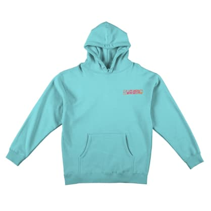 SPITFIRE CLASSIC RANSOM HOODIE - TURQUOISE