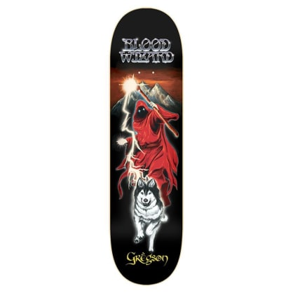 "Blood Wizard - Gregson Lone Wolf Deck (8.5"")"