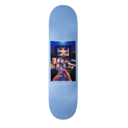 April Shane O'Neill Vintage Skateboard Deck - 8.25""