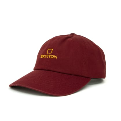 Brixton Alpha LP Cap - Dark Brick