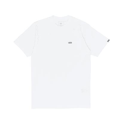 Vans Left Chest Logo T-Shirt - White/Black