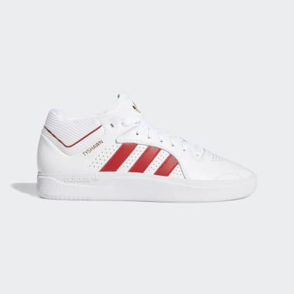 adidas Tyshawn Jones Shoes - FTWR White/Scarlett/FTWR White