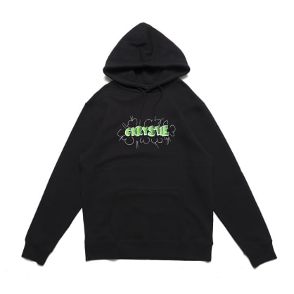Chrystie NYC Ruscha Logo Pullover Hoodie - Black