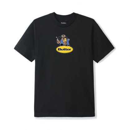 Butter Goods Homeboy Badge T-Shirt - Black