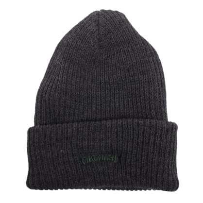 Orchard Text Logo Watch Cap Charcoal/Green
