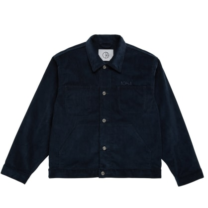 Polar Skate Co Cord Jacket - Police Blue
