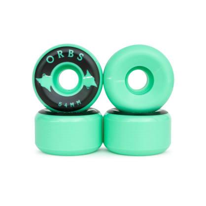 Orbs Specter Solids Mint Wheels - 54mm