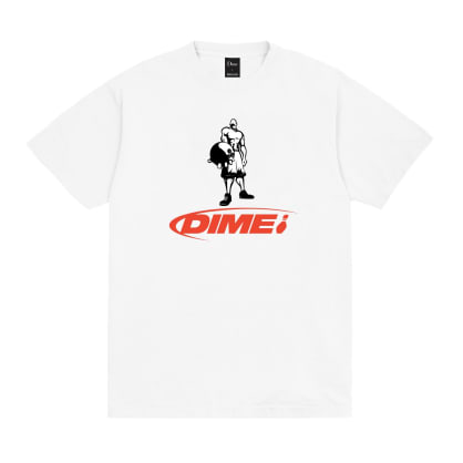 Dime Knowing T-Shirt - White