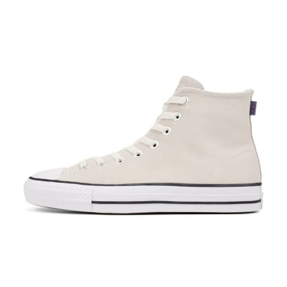 Converse CONS CTAS Pro Hi Shoes - Vintage White/Black