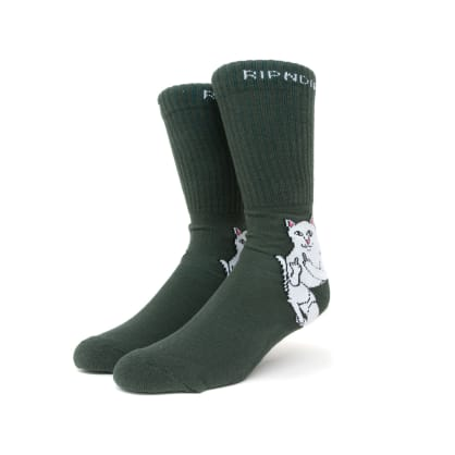 Rip n Dip Lord Nermal Socks - Hunter Green