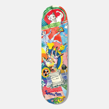 Baker Skateboards T-Funk Thoughts Skateboard Deck - 8.5""