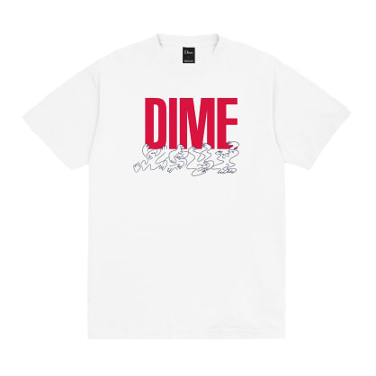 Dime Support T-Shirt - White