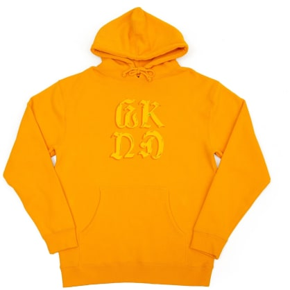 WKND Chrome On Hoodie - Gold