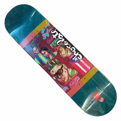 Chocolate Deck Cruz Cuts 8.18x31.5