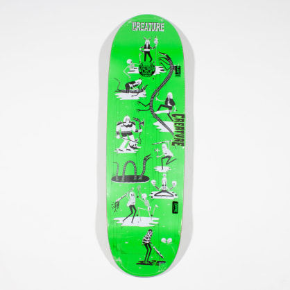 Creature Free For All XL Powerply Deck - 9.25""