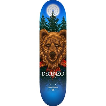 POWELL SKATEBOARDS BEAR SCOTT DECENZO 8.25""