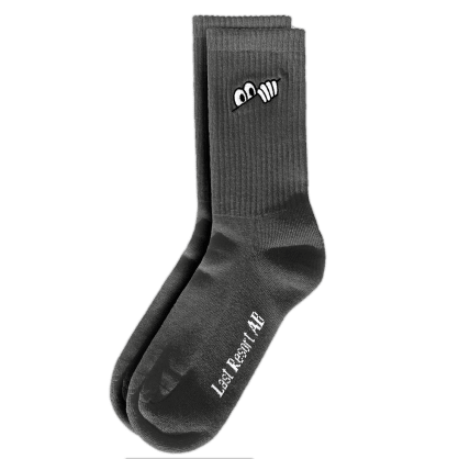 Last Resort AB Eyes Socks - Graphite