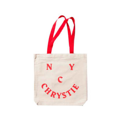 Chrystie NYC - Smile Logo Tote Bag