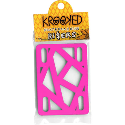 Krooked 1/8 Risers Pink