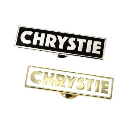 Chrystie NYC OG Logo Pins - Set of 2