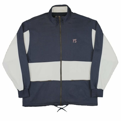 Yardsale YS Draw String Full Zip - Navy / White