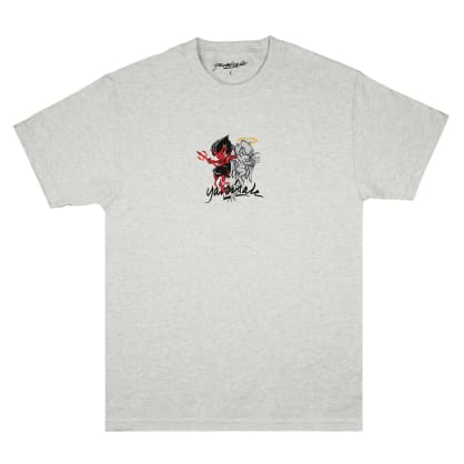 Yardsale Heaven and Hell T-Shirt - Ash Grey