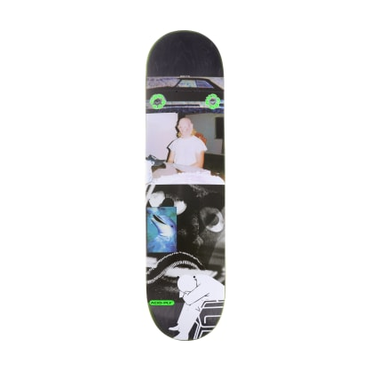 "Quasi CBD Car Black Skateboard Deck - 8"""