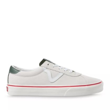 Vans Retro Sport Shoes - White / Red