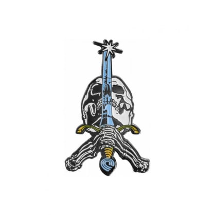 Powell Peralta - Skull & Sword Enamel Pin Badge