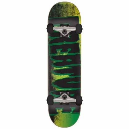 Creature Logo Scan Complete Skateboard Black/Green - 7.75""
