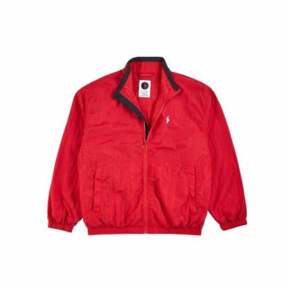 Polar Skate Co Track Jacket - Red / Black