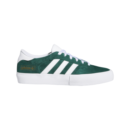 adidas Matchbreak Super Skate Shoes - Collegiate Green / FTWR White / Gold Met