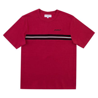 Yardsale Ribbed T-Shirt - Red