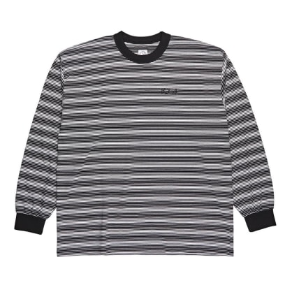 Polar Skate Co. Gradient Longsleeve T-Shirt (Black)