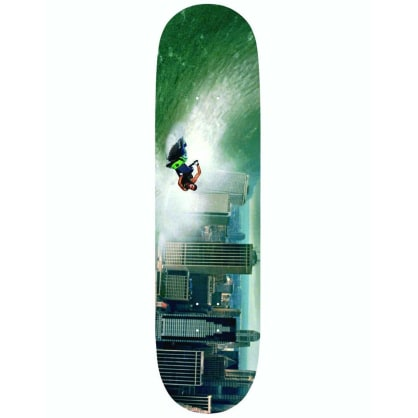 ALLTIMERS ZERED CHILLING DISASTERS TSUNAMI DECK - 8.3