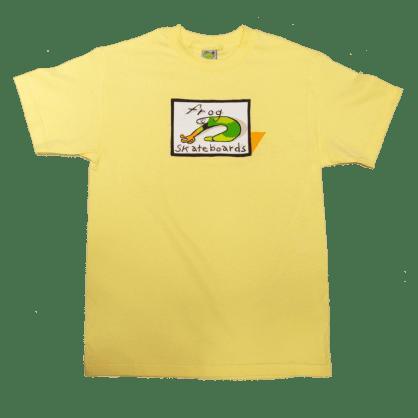 Frog Skateboards Classic Logo T-Shirt - Yellow
