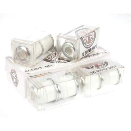 Independent 'Standard Cylinder' 78A Super Soft Bushings (White)