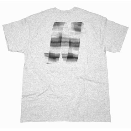 North N Logo T-shirt - Grey/Black