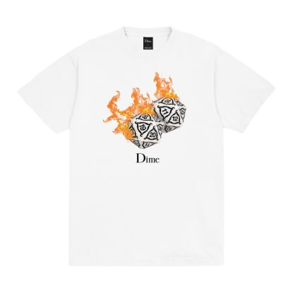 Dime Re-Roll T-Shirt - White
