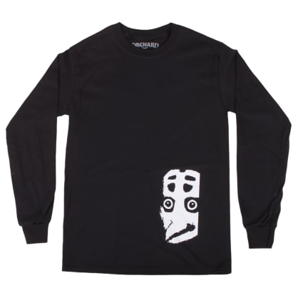 Orchard Faceoff Longsleeve Tee Black