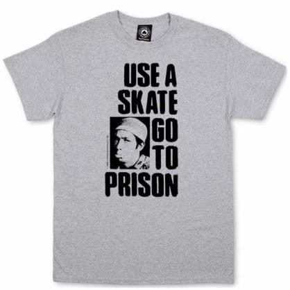 Thrasher Use A Skate T-Shirt - Grey