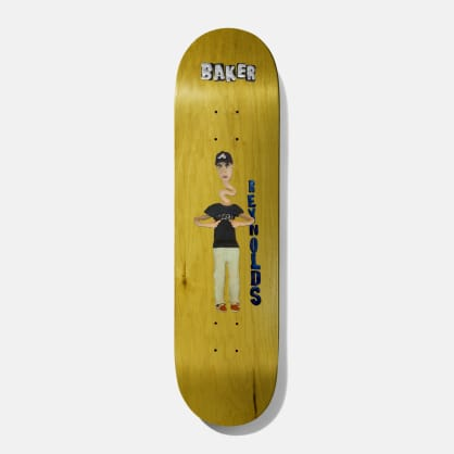 Baker Skateboards Reynolds Kazi Skateboard Deck - 8.5 (Various Woodstain)